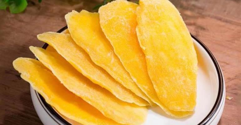 сушеное манго польза