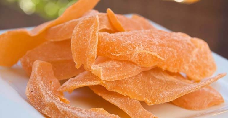 сушеное манго польза +и вред +для организма