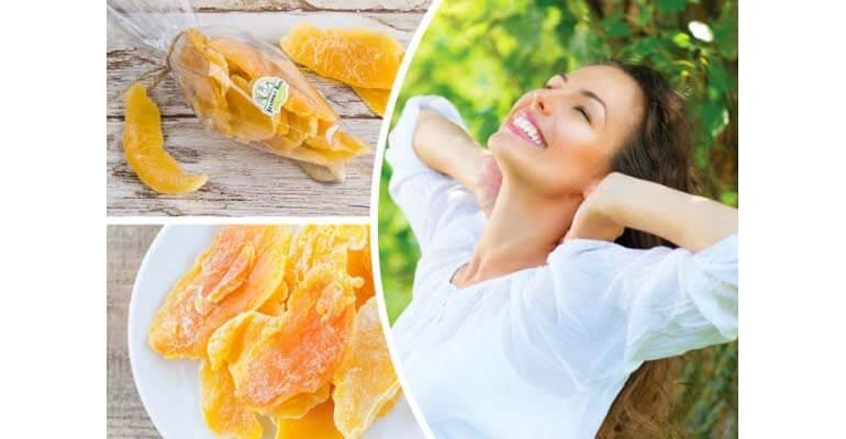 манго сушеное польза +для женщин