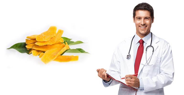 манго сушеный польза +и калорийность