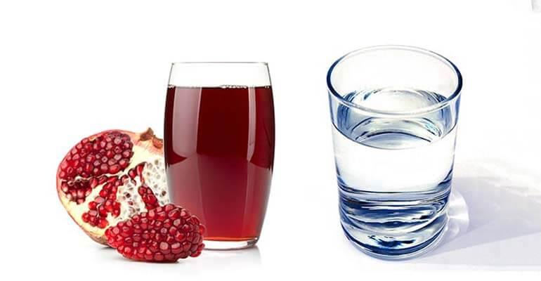 польза +и вред гранатового сока +в бутылках